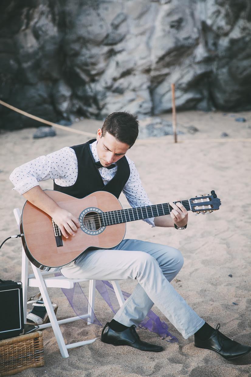 Entertainment en muziek voor bruiloften in Tenerife.