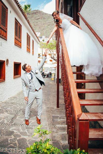 Fotograaf voor bruiloften in Tenerife