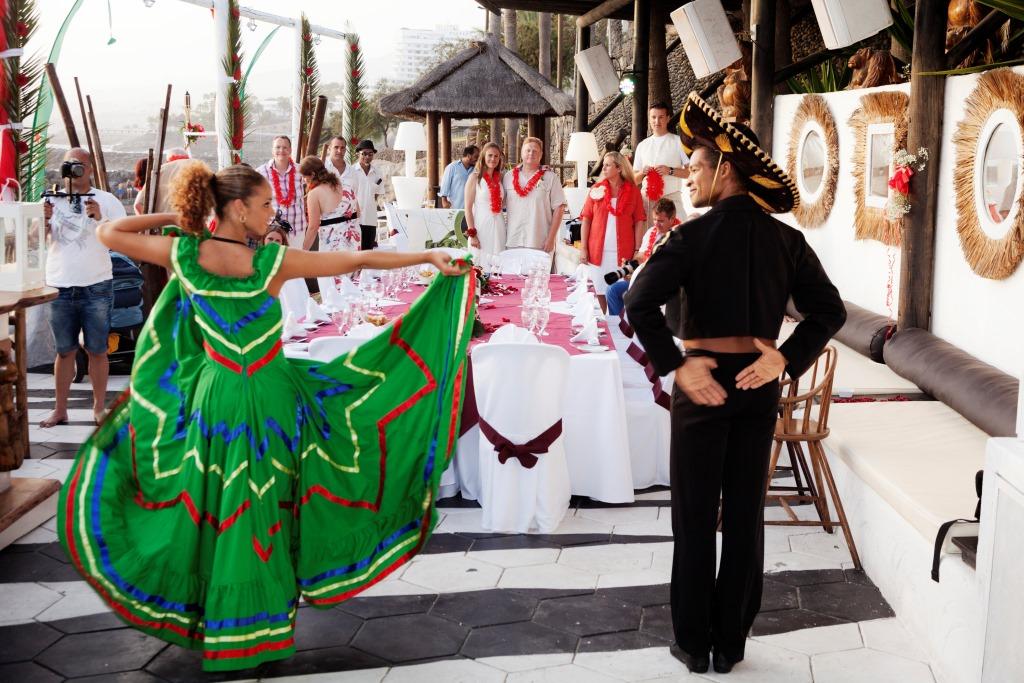 Het beste entertainment voor bruiloften en evenementen in Tenerife