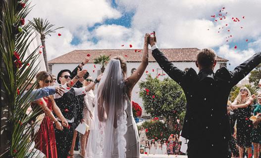 Kerken voor trouwfeesten in Tenerife, Spanje