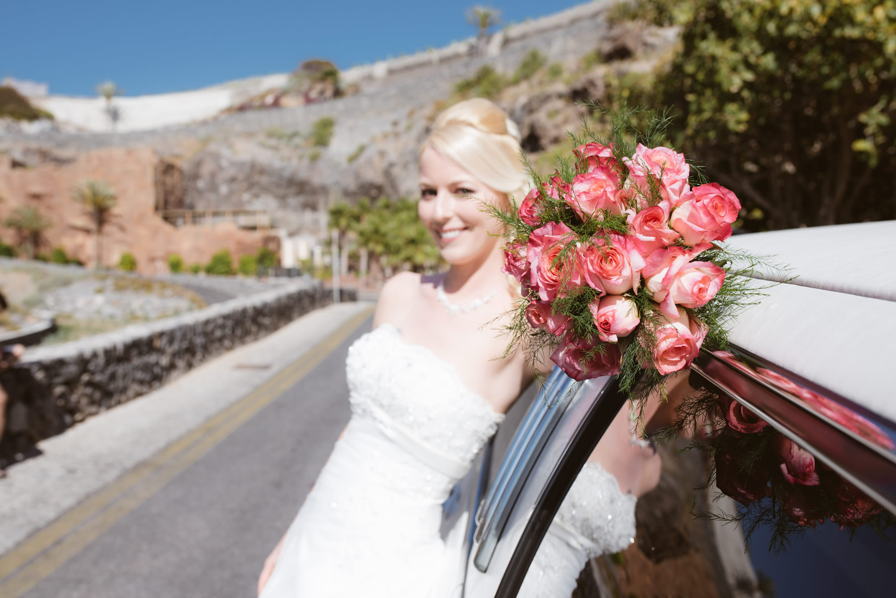 Transfer en vervoersdienst voor bruiloften in Tenerife
