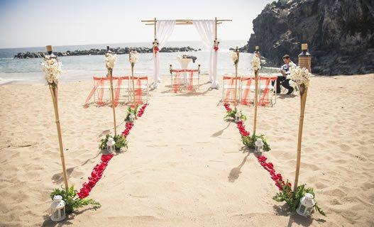 Trouwlocaties op het strand in Tenerife