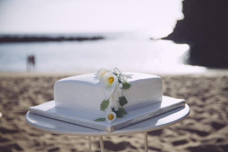 Vier uw bruiloft in Tenerife met de beste taart